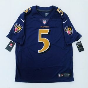new style 12f60 95a04 Nike Baltimore Ravens Joe Flacco Color Rush Jersey NWT